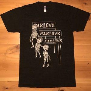 Parlovr Vintage 2009 Band Tee Shirt